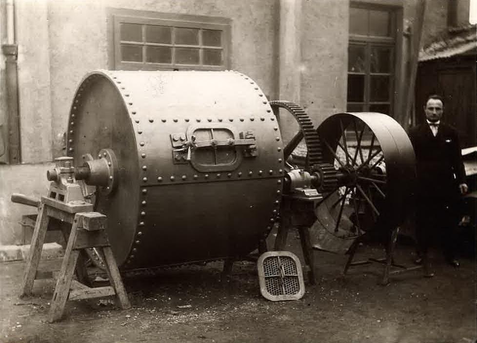 molino a sfere 1928